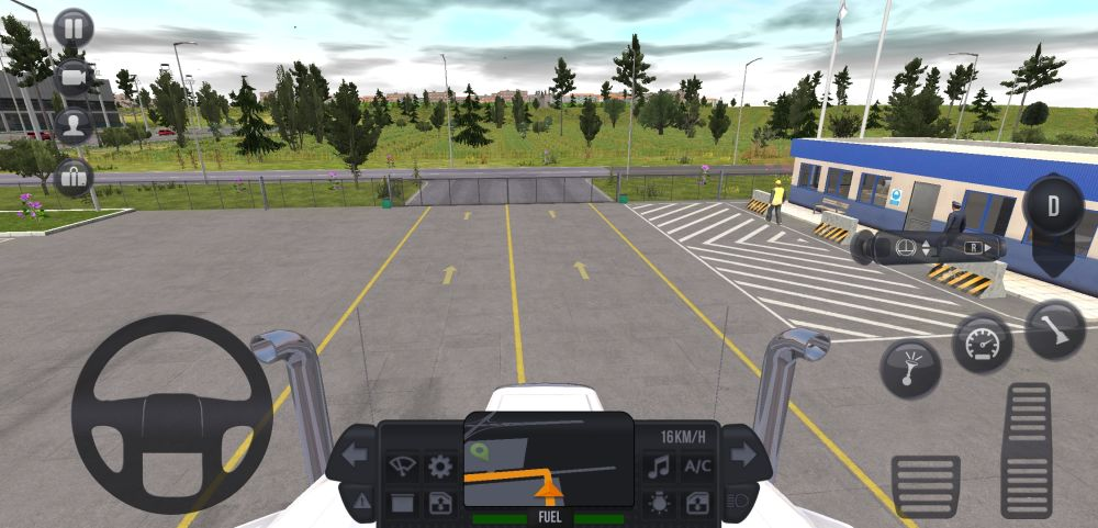 truck simulator ultimate practice
