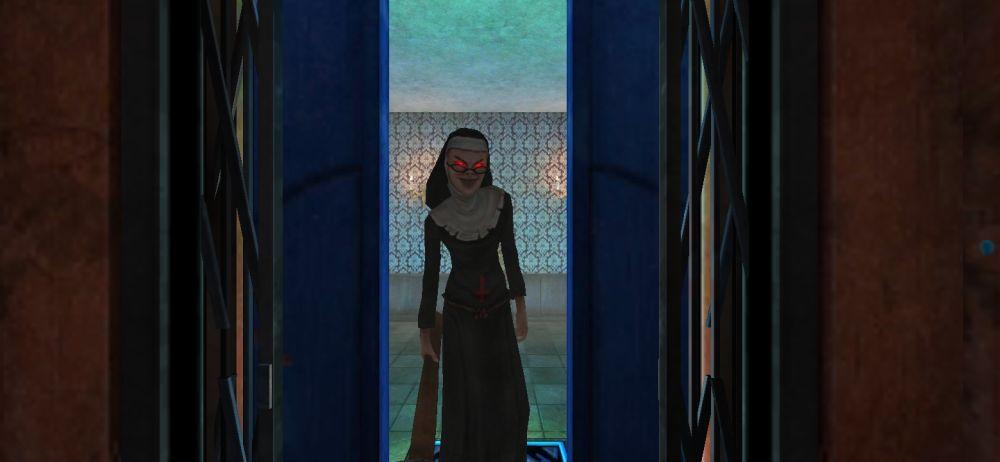 evil nun maze end