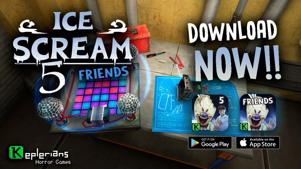 Ice Scream 5 Friends: Mike's Adventure Walkthrough: A Complete Guide to Reunite Mike and J