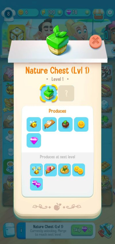 love & pies nature chest
