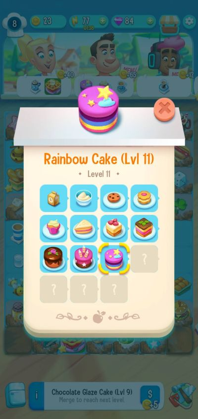 love & pies rainbow cake