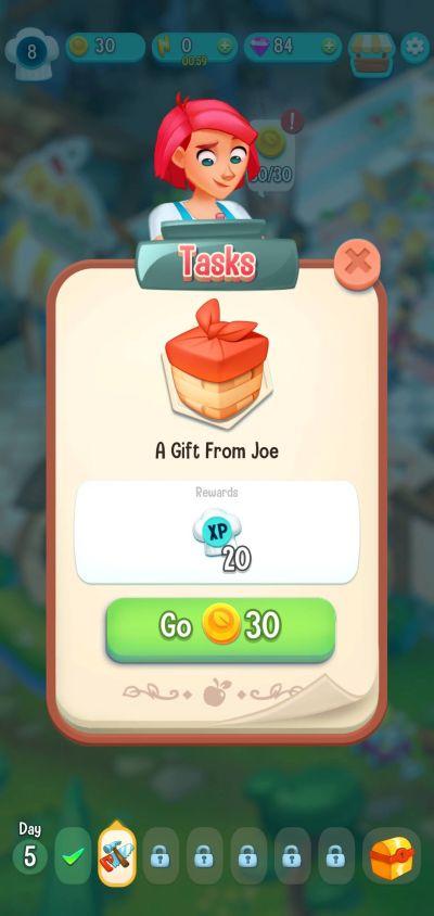 love & pies tasks