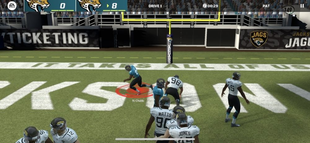 madden nfl 22 mobile two-point conversion