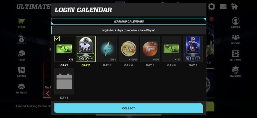 madden nfl mobile 22 login rewards