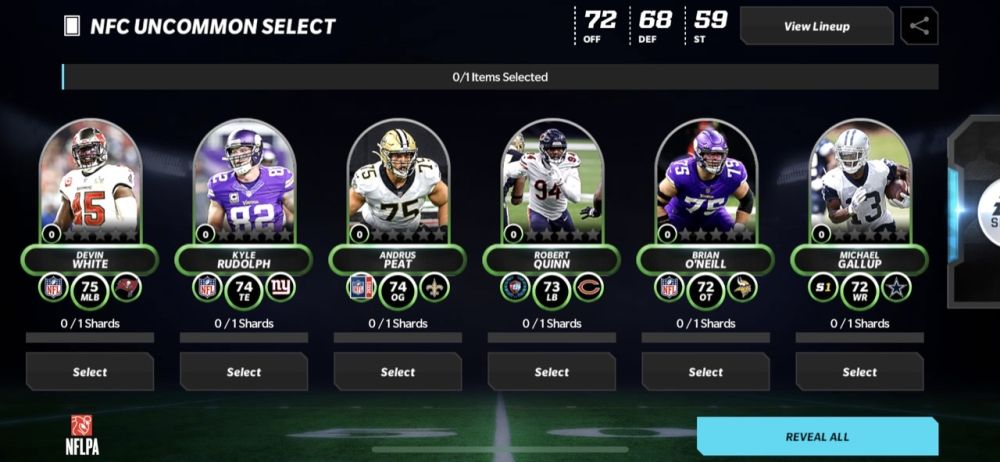 madden nfl mobile 22 uncommon player pack