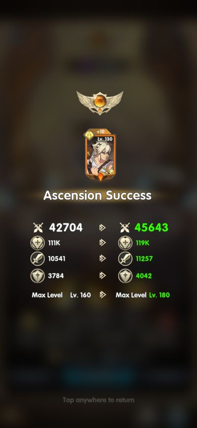 mythic heroes ascension
