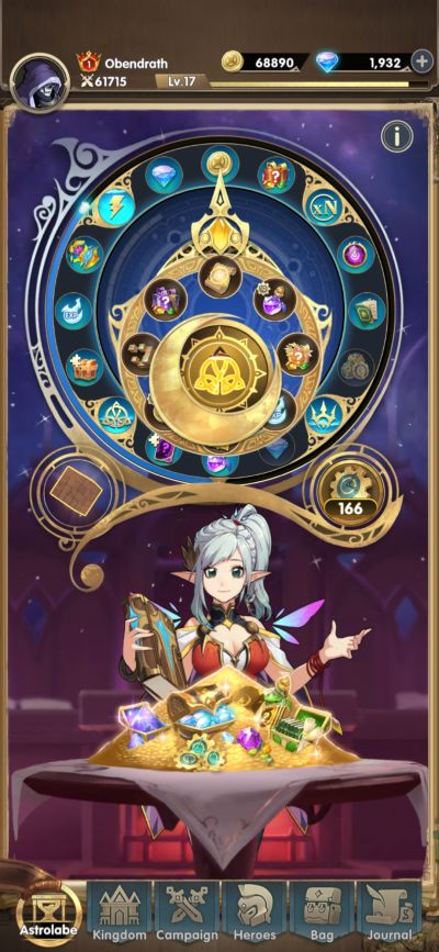 mythic heroes astrolabe