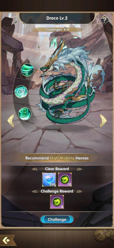 mythic heroes draco
