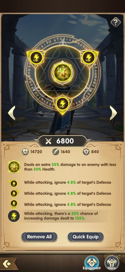 mythic heroes equipment
