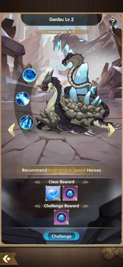 mythic heroes genbu