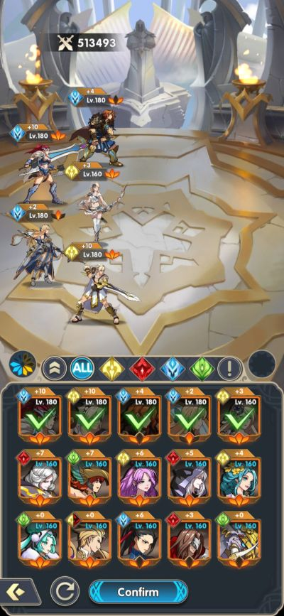 mythic heroes hero placement