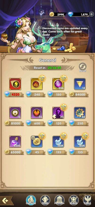 mythic heroes market