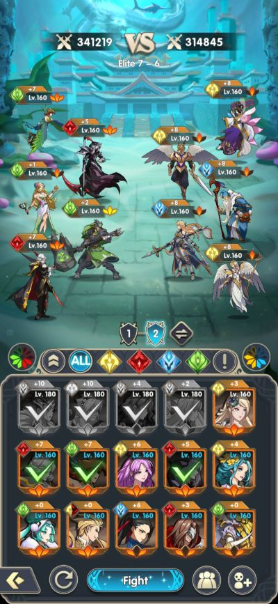 mythic heroes team composition