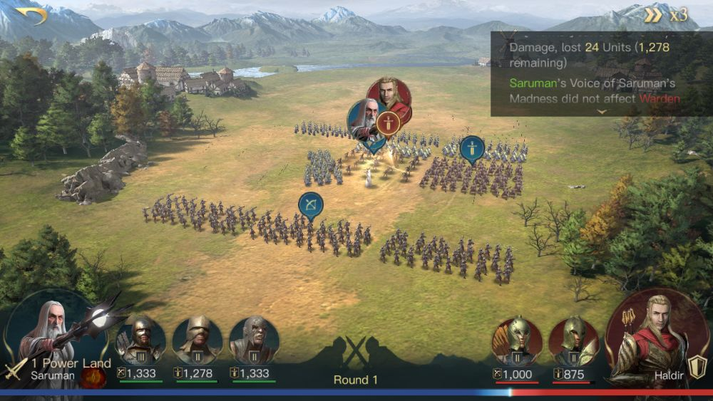 the lord of the rings rise to war battle