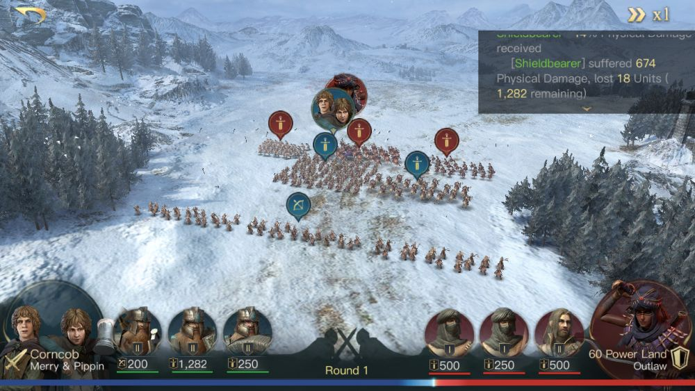 the lord of the rings rise to war battle damage