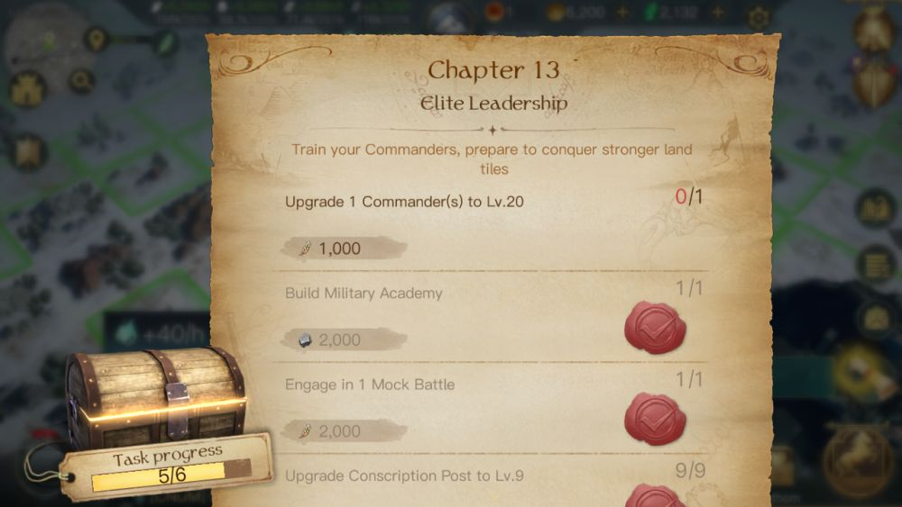 the lord of the rings rise to war chapter quests