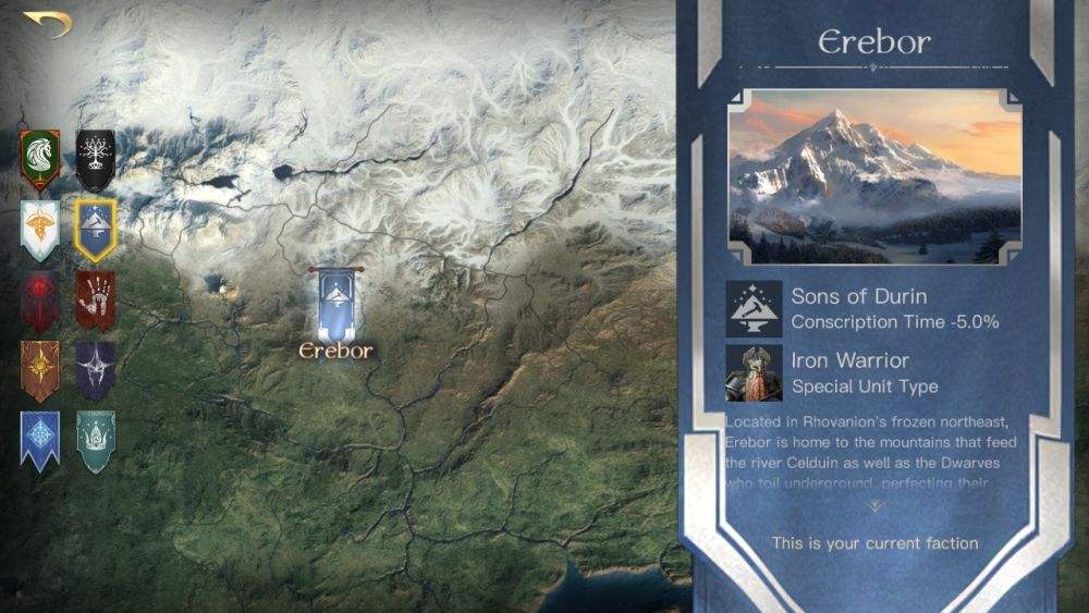the lord of the rings rise to war erebor