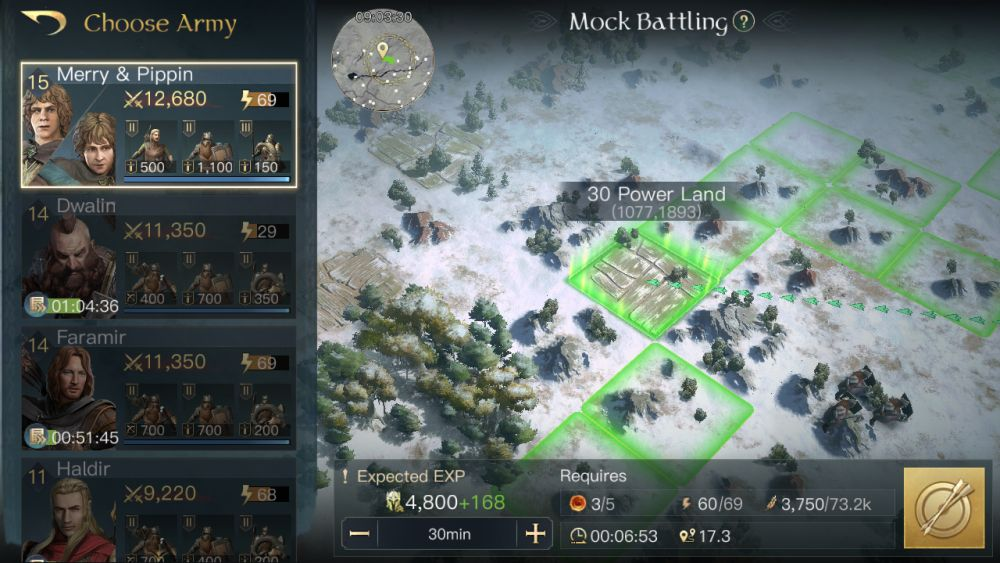 the lord of the rings rise to war mock battle