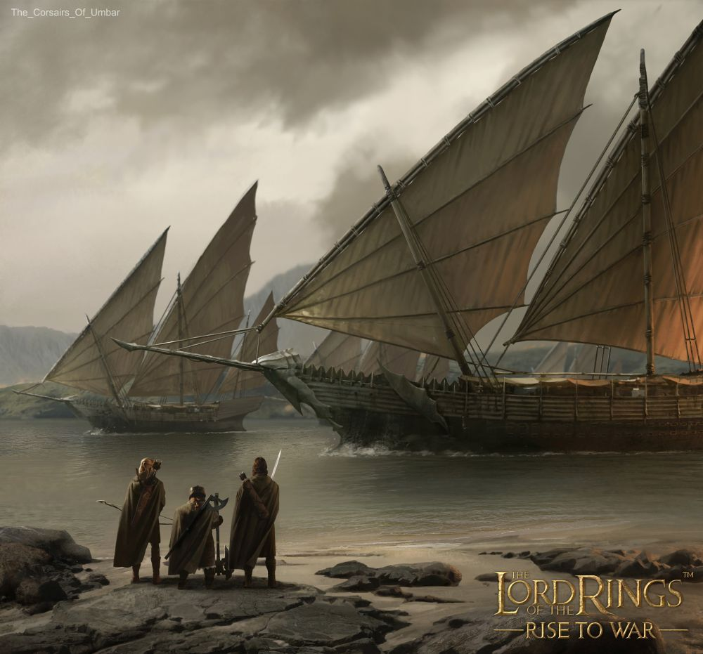 the lord of the rings rise to war the corsairs of umbar